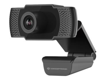 Webcam CONCEPTRONIC AMDIS01B 1080P + Microphone