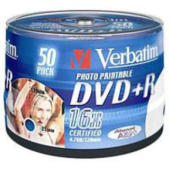 DVD+R Verbatim 50er Spindel - Photo Printable