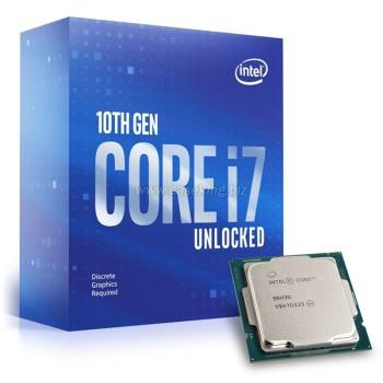 CPU 1200 Intel Core i7-10700KF 2,9-4,8GHz 12MB 8/16 Box 125W